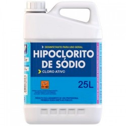 Hipoclorito de Sodio 25L...