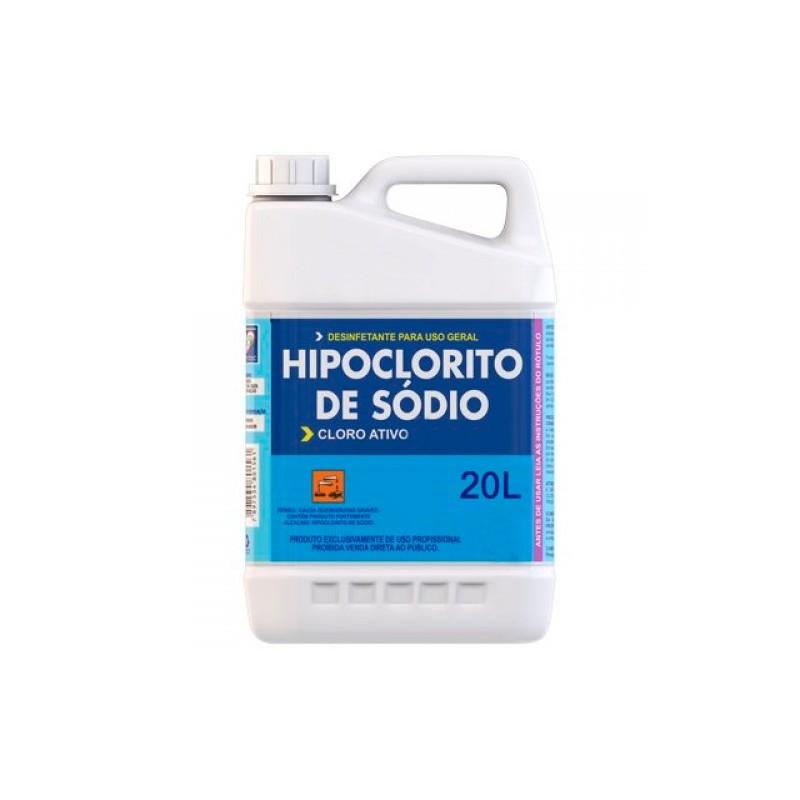 Hipoclorito de sodio 20l cloro l quido para piscina for Liquido sellador para piscinas